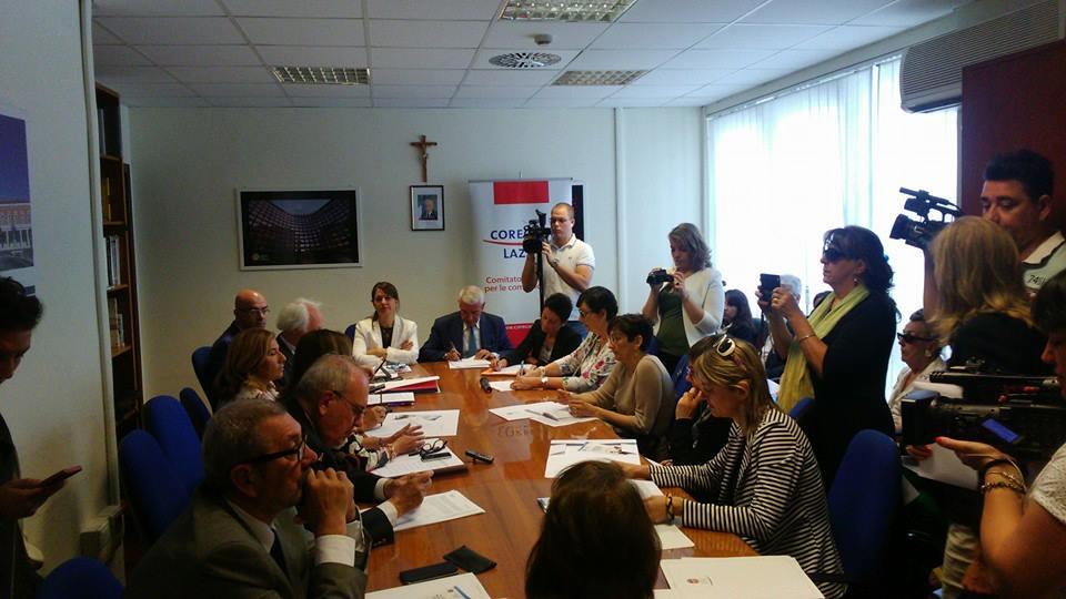 Regione Lazio. Firmato il protocollo donne e media.