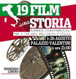 """Estate in Provincia: a Palazzo Valentini """"19 Film una Storia"""""""