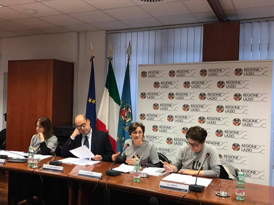 La Regione Lazio contro la violenza di genere